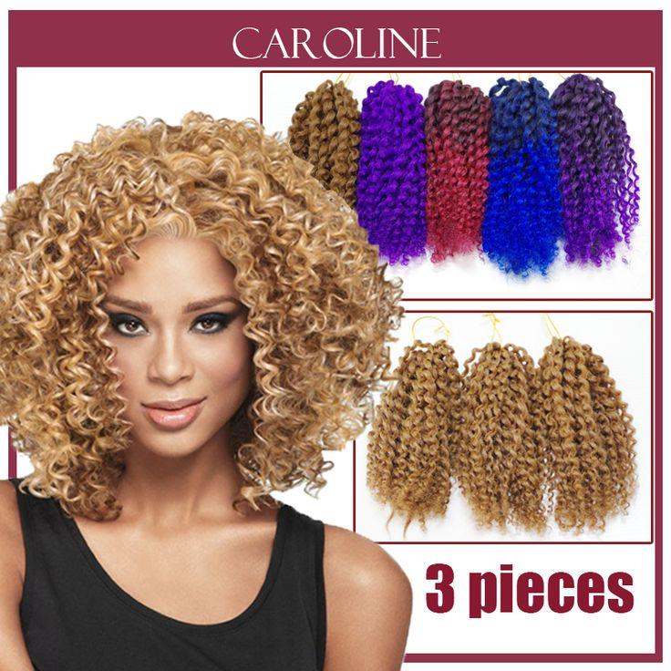 Kinky Krullend Haar Voor Zwarte Vrouwen Havana Mambo Twist Gehaakte Vlechten Haarverlenging Senegalese Synthetische Vlechten Haar 6303 S