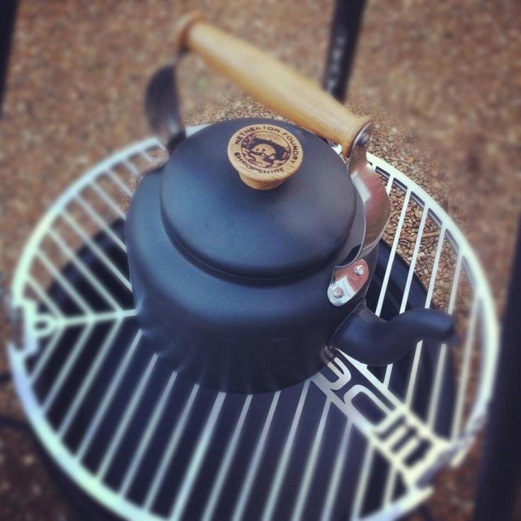 Netherton Foundry 3/12 pint traditional Kettle + Roadii = Endless Tea! Bliss