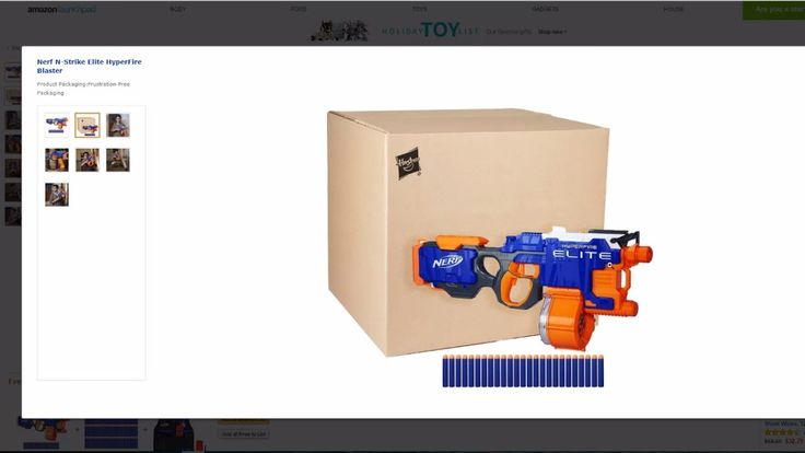Where to Buy the Hyperfire Nerf Gun