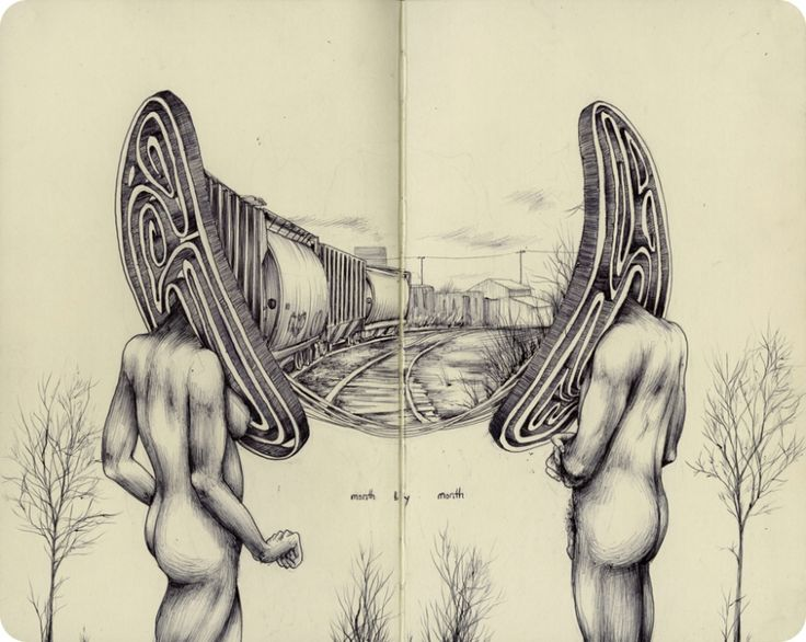 Upper Playground | A peek into the sketchbook of Pat Perry