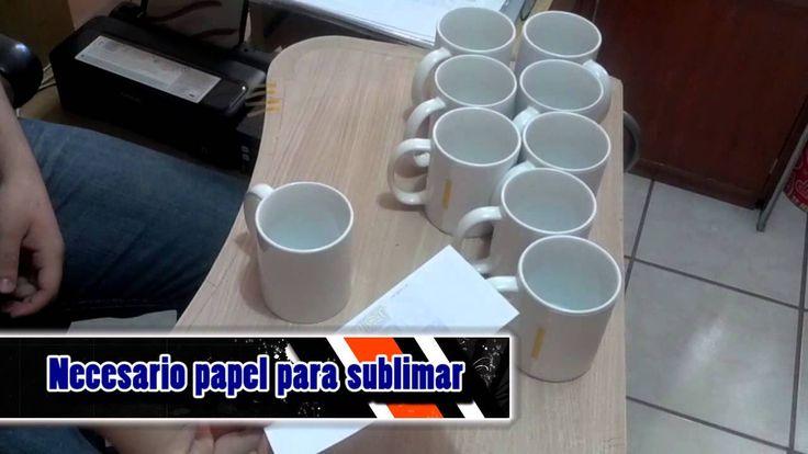 Como Sublimar tazas 11 oz proceso completo