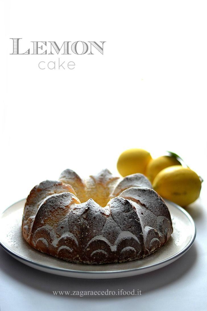 Torta al Limone senza burro,senza latte,senza olio e senza lievito ma tanto soffice e squisita http://www.zagaraecedro.ifood.it/2016/01/torta-al-limone.html