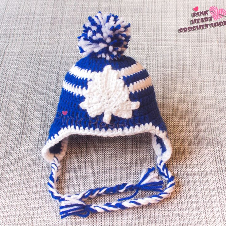 Toronto Maple Leafs baby hat  For all the Fans   New design