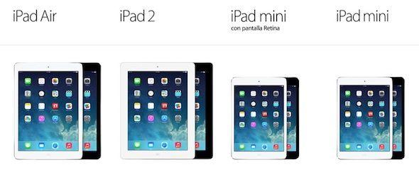 iPad Mini Retina, iPad Air, iPad Mini o iPad 2 ¿Qué Modelo Comprar?