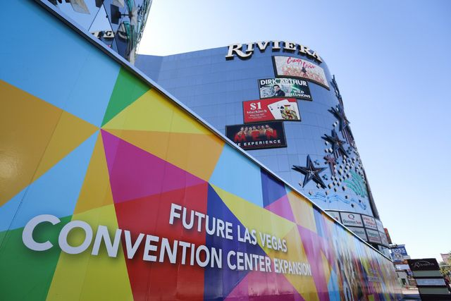 The Las Vegas Convention and Visitors Authority's legal team is keeping an eye on an initiative petition drive filed with the Clark County registrar of voters attempting to block demolition of the shuttered Riviera hotel-casino.