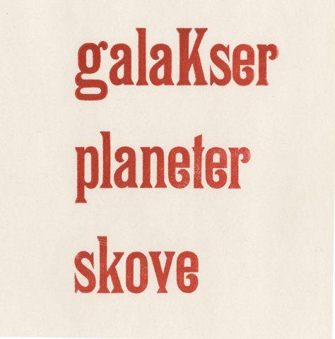 galaKser planeter skove - Sille Windum