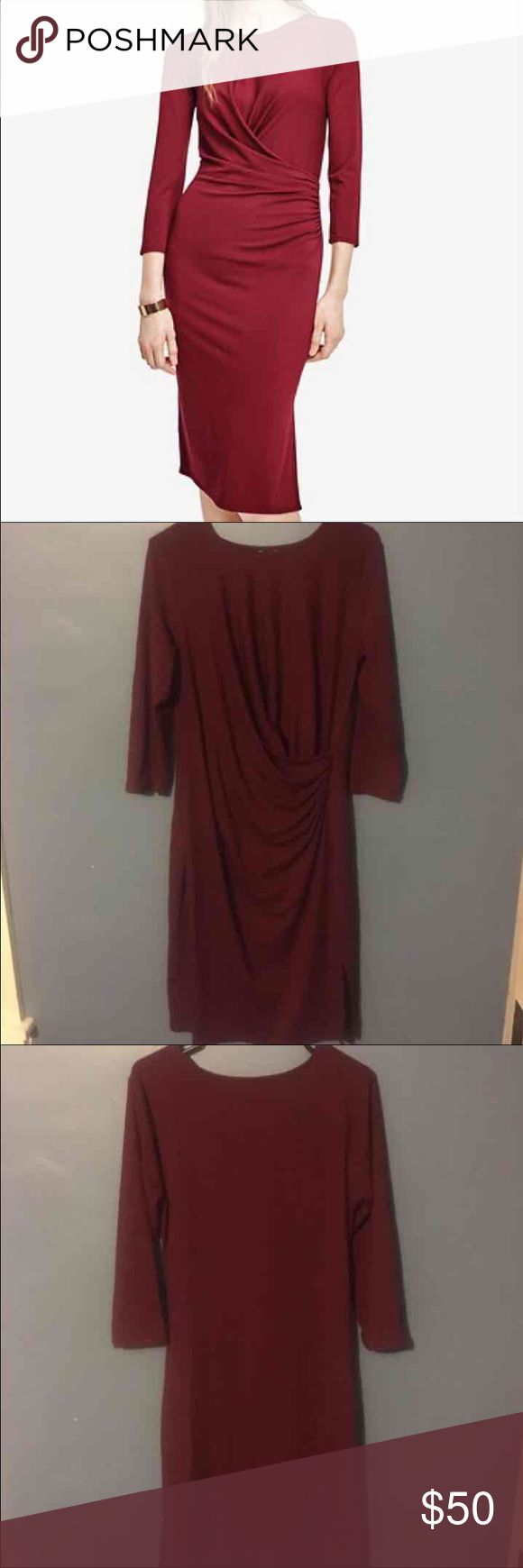 Ann Taylor Jersey Dress - Size L - NWT NWT. Just been in my closet. Ann Taylor Dresses Long Sleeve