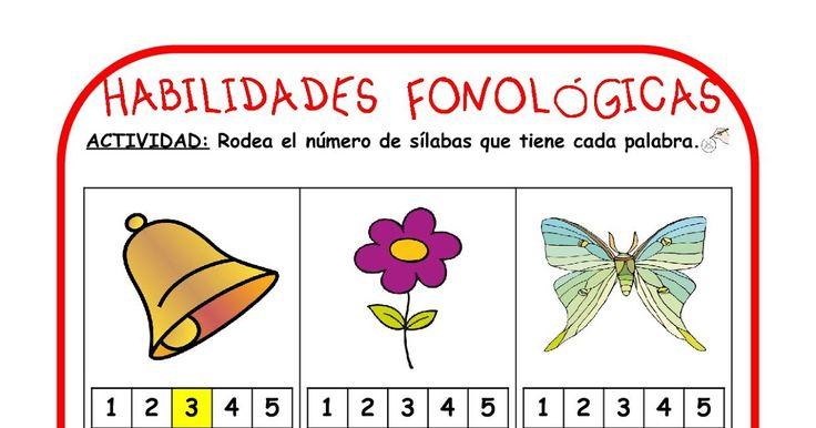 HABILIDADES FONOLÓGICAS I                    HABILIDADES FONOLÓGICAS II                    HABILIDADES FONOLÓGICAS III