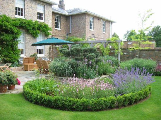 Garten Design - moderne coole Garten Gestaltung im Hinterhof - #Gartengestaltung