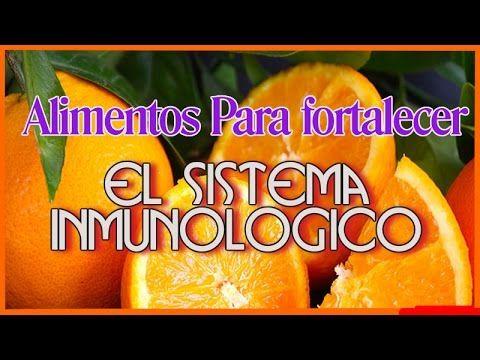 10 Alimentos para Fortalecer Sistema Inmunologico