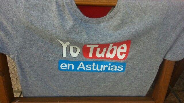 Camiseta con humor de Asturias