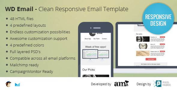 WD Email - Clear Responsive Email Template