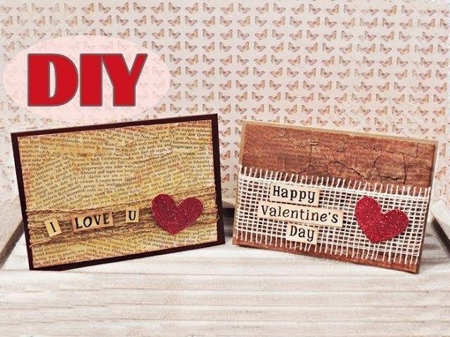 Valentinstagskarten selber basteln #3 - Valentine's Day Cards #3 - DIY