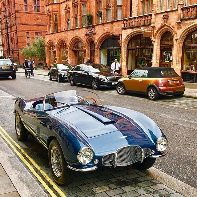 Aston Martin's stunning DB2/4 Bertone Spider making a rare appearance in London...  #RePin by AT Social Media Marketing - Pinterest Marketing Specialists ATSocialMedia.co.uk