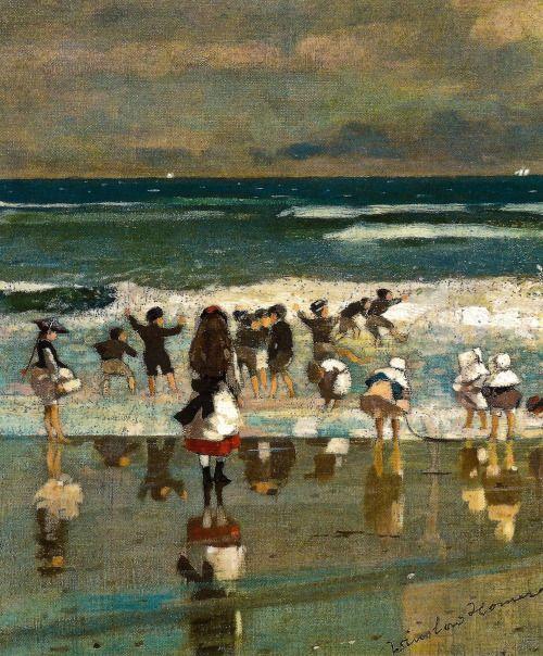 Beach Scene, Winslow Homer