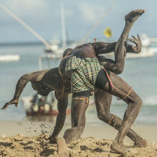 Dominate your oponent #laamb #wrestling #senegal