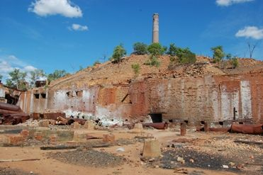 Chillagoe Smelters, Chillagoe-Mungana Caves National Park. Queensland; Australia.
