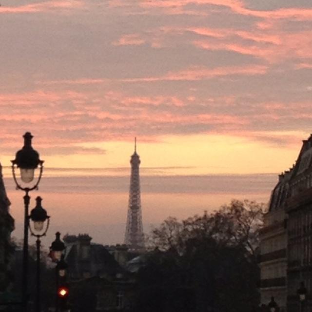 Dernière ligne droite, la rue Soufflot... - Paris