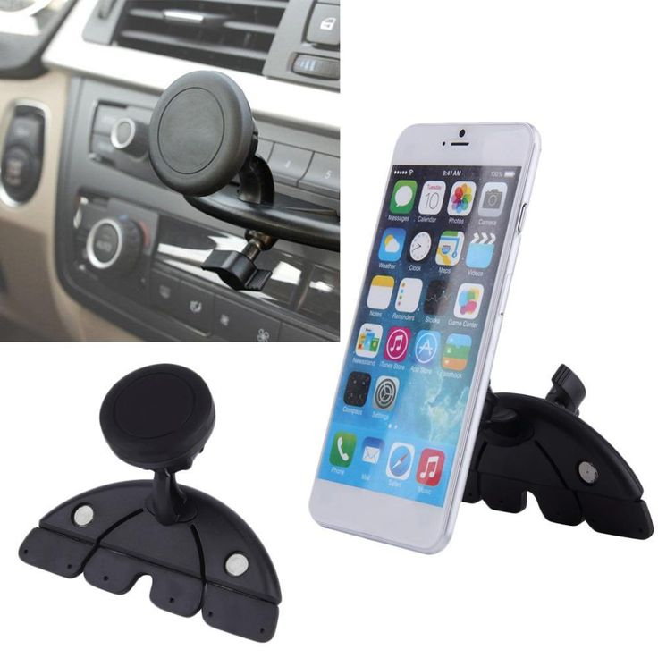Hot trending item: Universal Adjusta... Check it out here! http://jagmohansabharwal.myshopify.com/products/universal-adjustable-cd-player-slot-smartphone-mobile-phone-car-mount-holder-360-rotating-magnet-stand-bracket-for-mobile-gps?utm_campaign=social_autopilot&utm_source=pin&utm_medium=pin