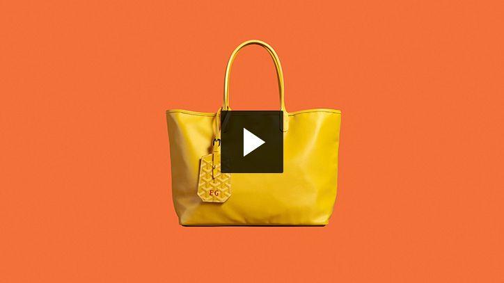 Goyard, trunkmaker, travel bags, leather goods, Goyard trunks, Paris, New York…