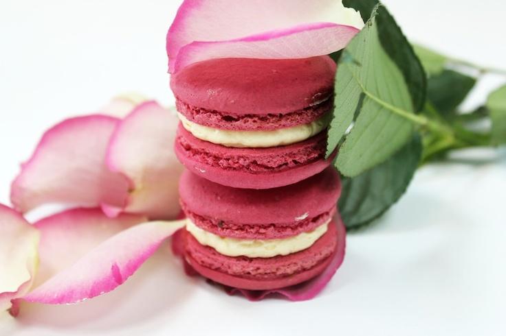 Rose Macaroon by milK & HONEY Pâtisserie