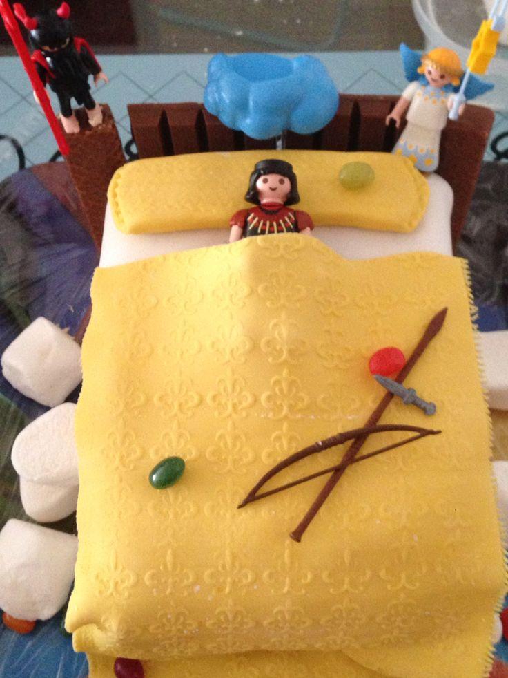 Pastel 10º cumpleaños Tristán