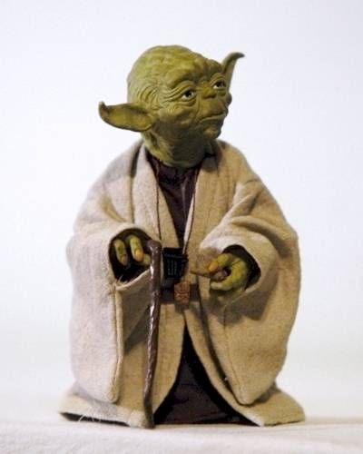 VCD Yoda action figure - Another Pop Culture Review by Michael Crawford, Captain Toy