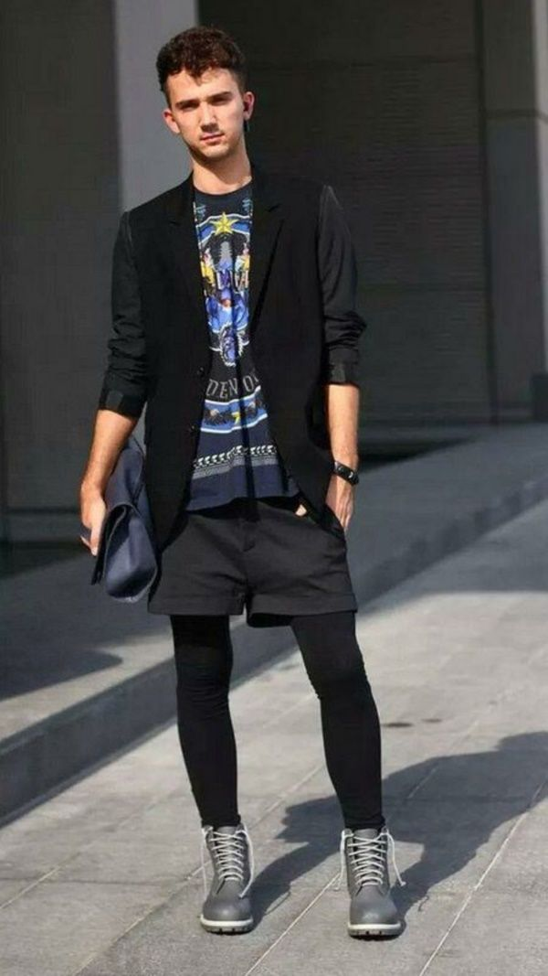 Relaxed Yet Stylish Shorts Outfits For Men0221