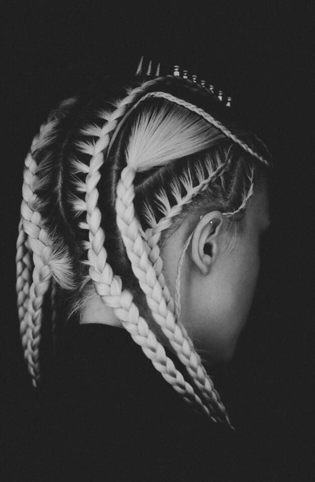433 Best Images About Braids And Updos On Pinterest Updo