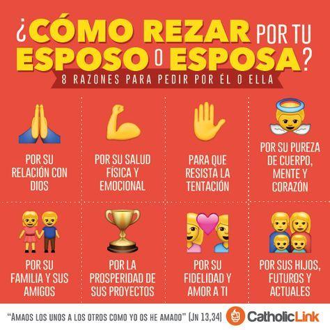 Infografía: ¿Cómo rezar por tu esposo o esposa?