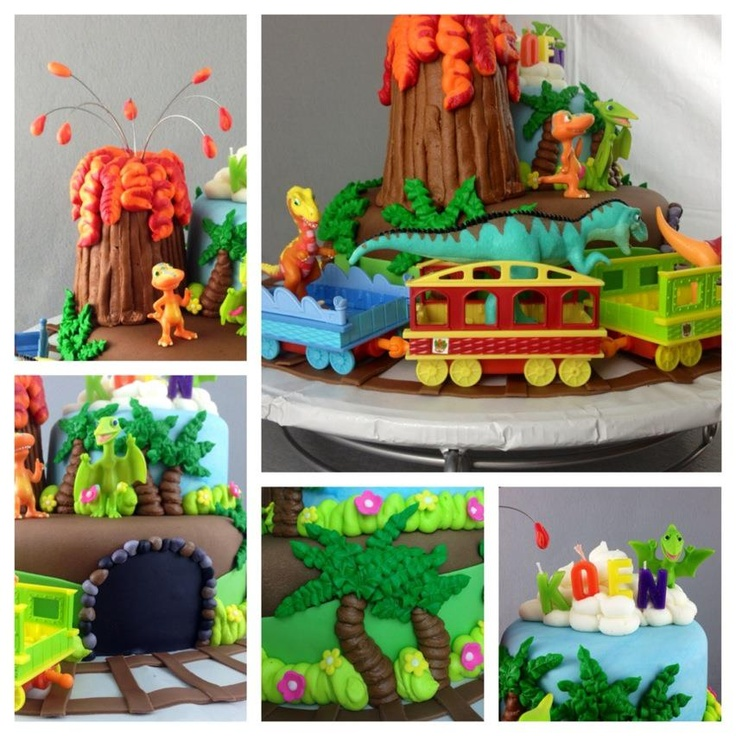 Dinosaur Train Cake Images : Dinosaur Train Cake Made By Deneen Pinterest ...