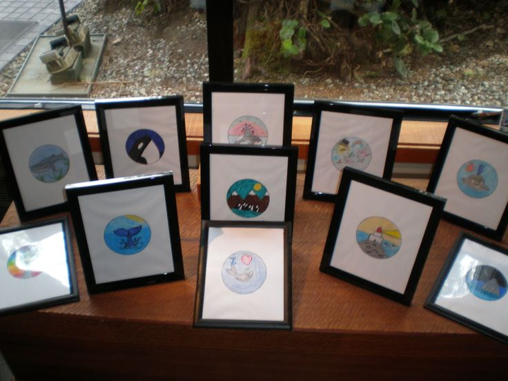The Pacific Rim Whale Festival Button Winners' Artwork of 2014 are currently displayed in the Henry Nolla Art Gallery.  Come and view these wonderful art pieces created by children in the local area.
