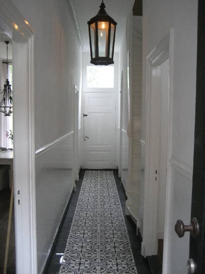 Designtegels.nl - Toepassingen van cementtegels: Portugal Tegel, Vans, Floors, Tile Patterns, Inspirati Wonen, Entrance Hall, De Hal, Hallways Lighting, Cement Tile