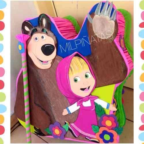 Resultado de imagen para piñata de masha