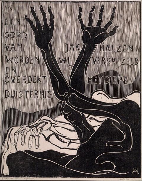 houtsneden - Alfred Hafkenscheid