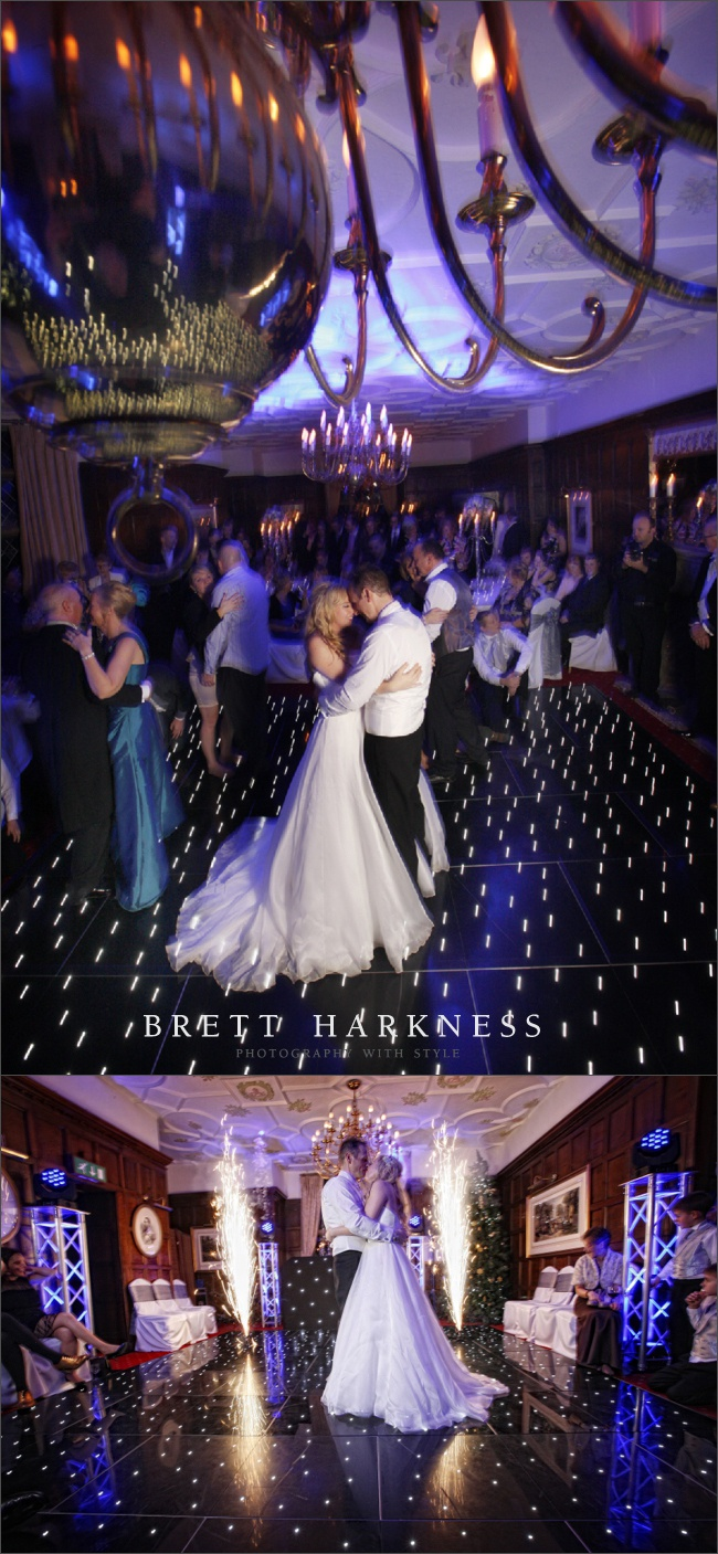 Eastwell Manor - love the dancefloor this couple had, looks fab