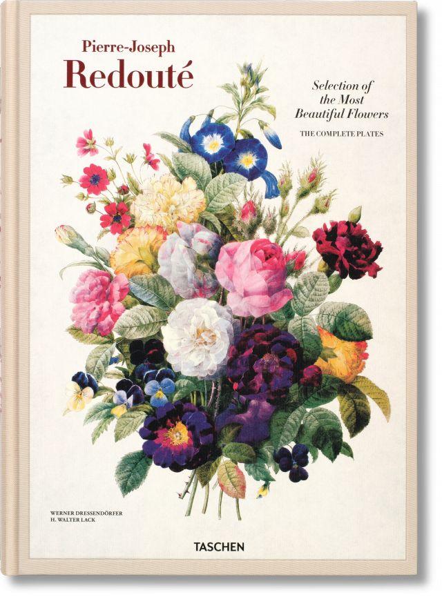 Selection of the most beautiful flowers = Auslese der schönsten Blumen = Choix des plus belles fleurs : 1827 - 1833 / Pierre-Joseph Redouté,  Werner Dressendörfer, H. Walter Lack. Taschen, 2015 Lilliad Cote 582.13 RED