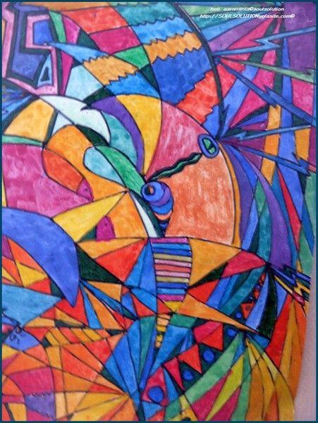 A3 size abstract art 2009 by Heli Aarniranta on ARTwanted