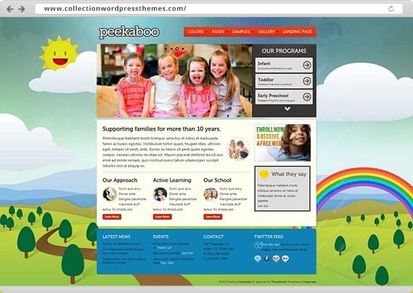 8 best Web Design - Child images on Pinterest | Template, Design web ...