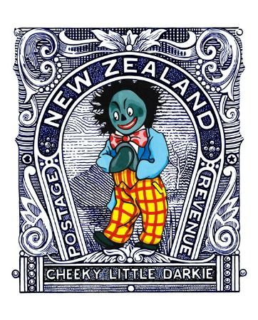Cheeky Little Darkie by Lester Hall for Sale - New Zealand Art Prints