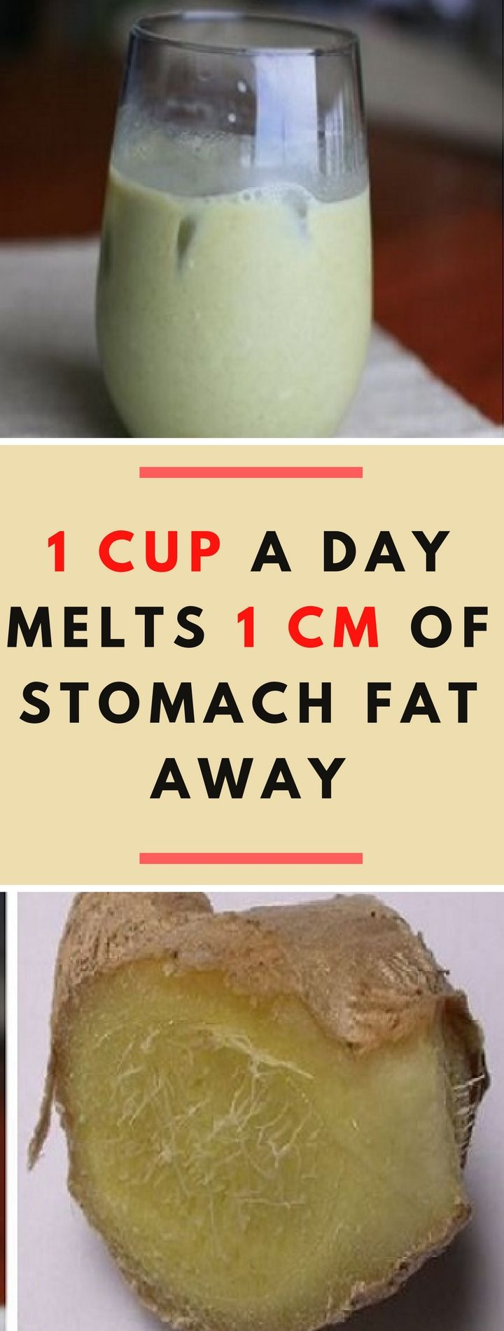 1 Cup a Day Melts 1cm of Stomach Fat Away