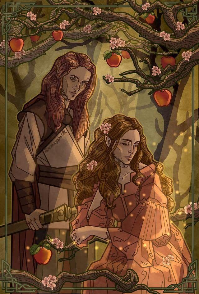Lucien And Elain With Images A Court Of Mist And Fury Sarah J