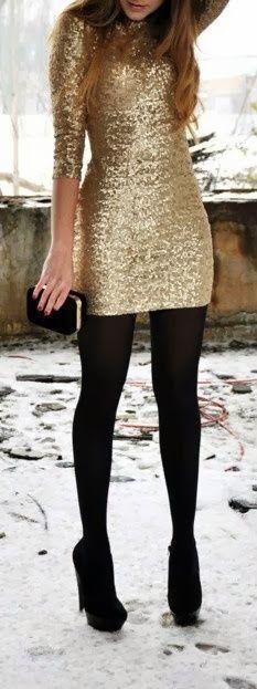 Gold + black.