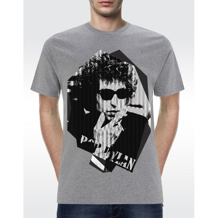 M01 BOB DYLAN T-shirt Men's Organic T-shirt - Climate Neutral® Available in 6 colours