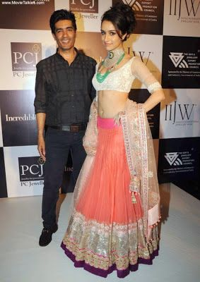 Shraddha Kapoor in & with http://www.ManishMalhotra.in/