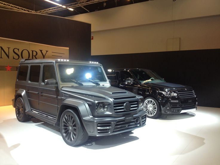 Modified G class by Mansory