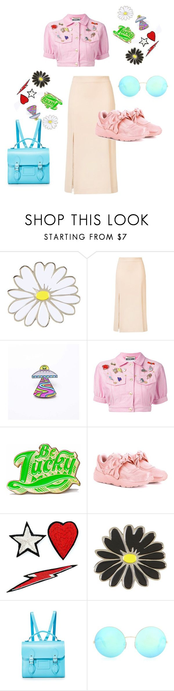 """you've got to know to understand"" by thedeannaelizabeth on Polyvore featuring Topshop, Ryan Roche, Moschino, Marby & Elm, Puma, Racil, The Cambridge Satchel Company and Victoria Beckham"