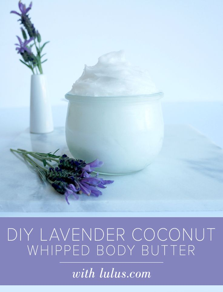 DIY Lavender Coconut Whipped Body Butter at LuLus.com!