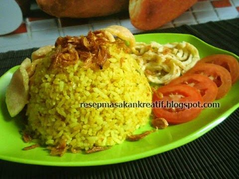 Resep Nasi Goreng Kuning Kunyit | Resep Masakan Indonesia (Indonesian Food Recipes)