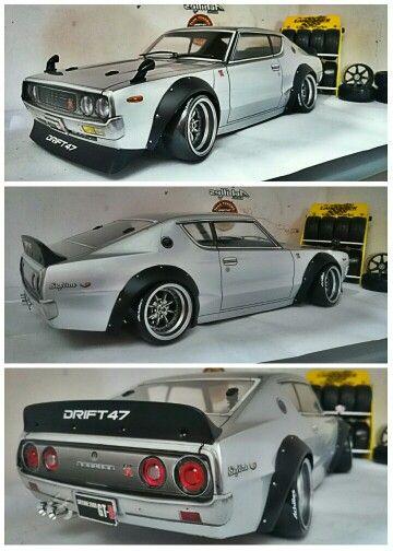 Nissan Skyline 2000 GT-R #drift47workshop #abchooby #rcdrift